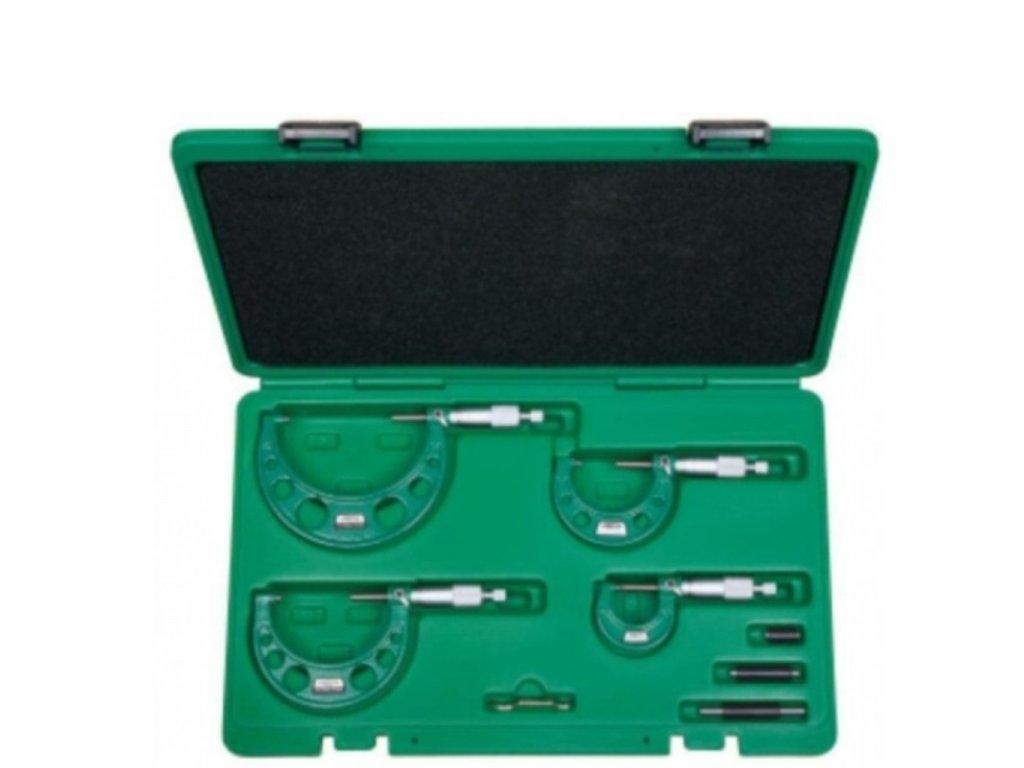 Insize-3203-1004A-külső-mikrométer-készlet mikrométer készlet