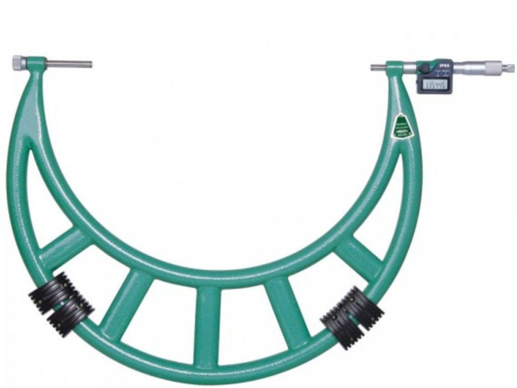 Insize-3506-400A-külső-mikrométer-cserélhető-ülékel