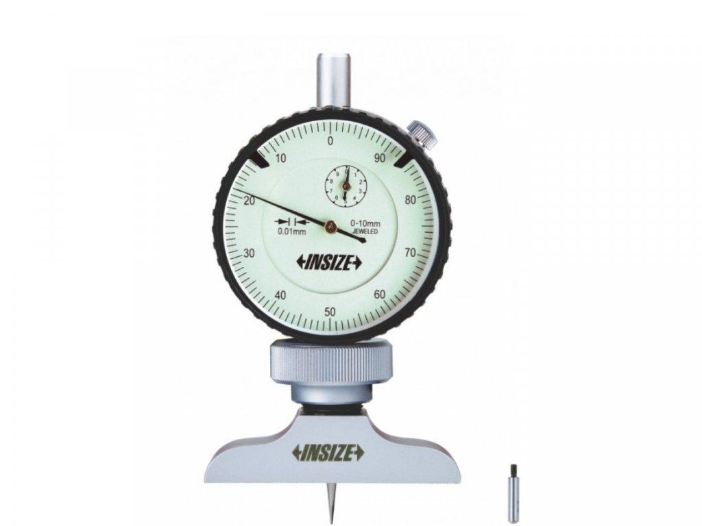 Insize-2341-101A-mérőórás-mélységmérő