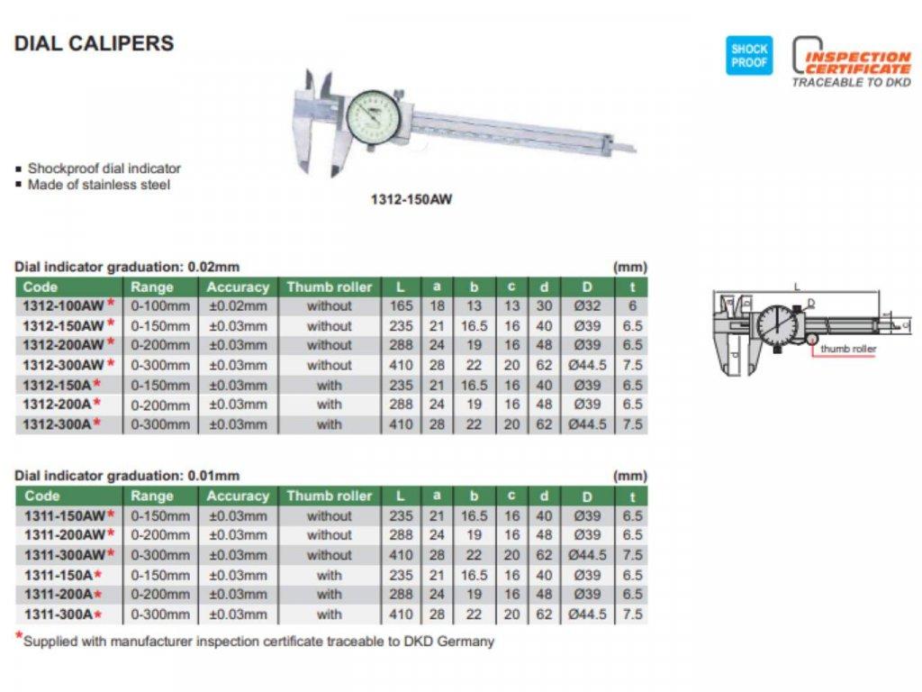 Insize-1312-150AW-mérőórás-tolómérő
