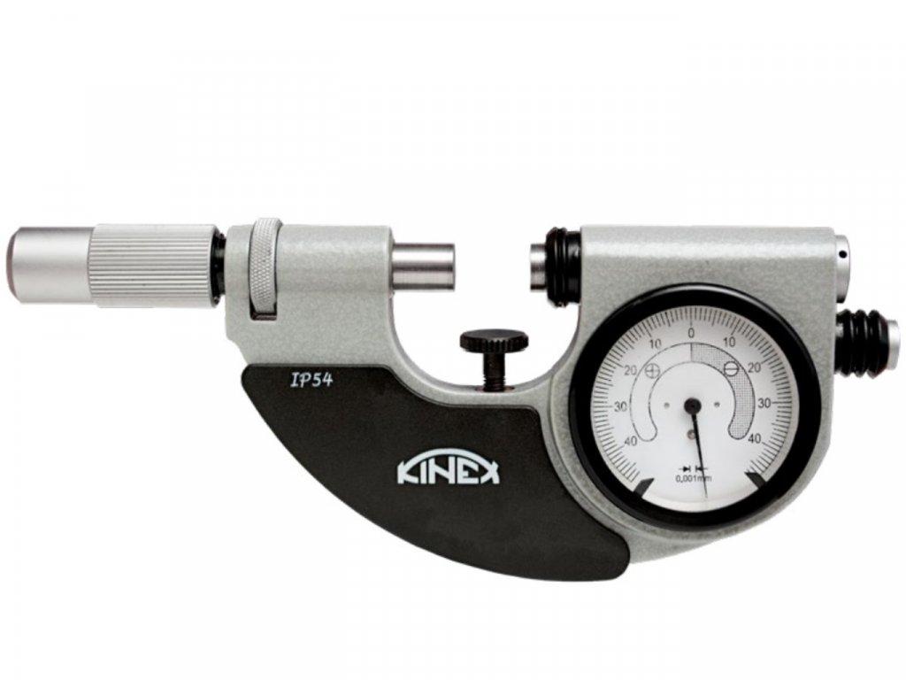 KINEX-7126-02-025-mérőórás-mikrométer