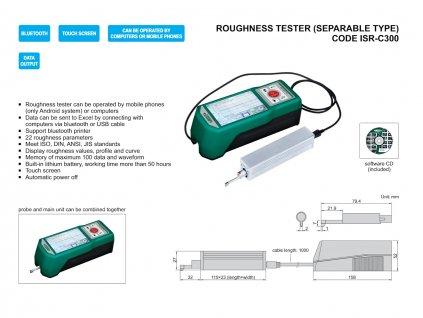 Felületi érdességmérő ISR C300 Insize
