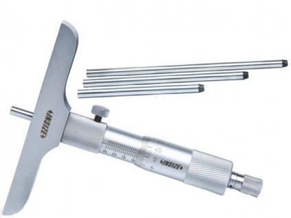 Insize-3240-25-mélységmérő-mikrométer