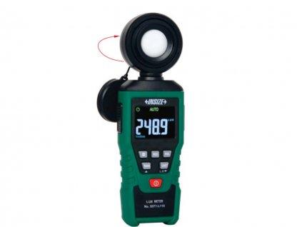 Insize-9371-L110-fényerőségmérő-luxméter