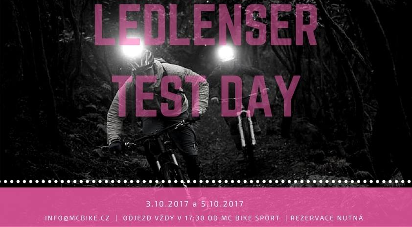 Ledlenser Test Day