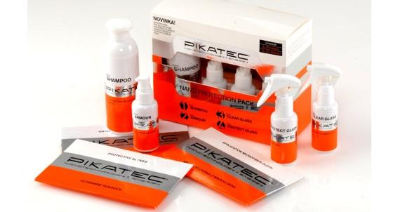 Aplikace Nanokosmetiky Pikatec na jízdní kola