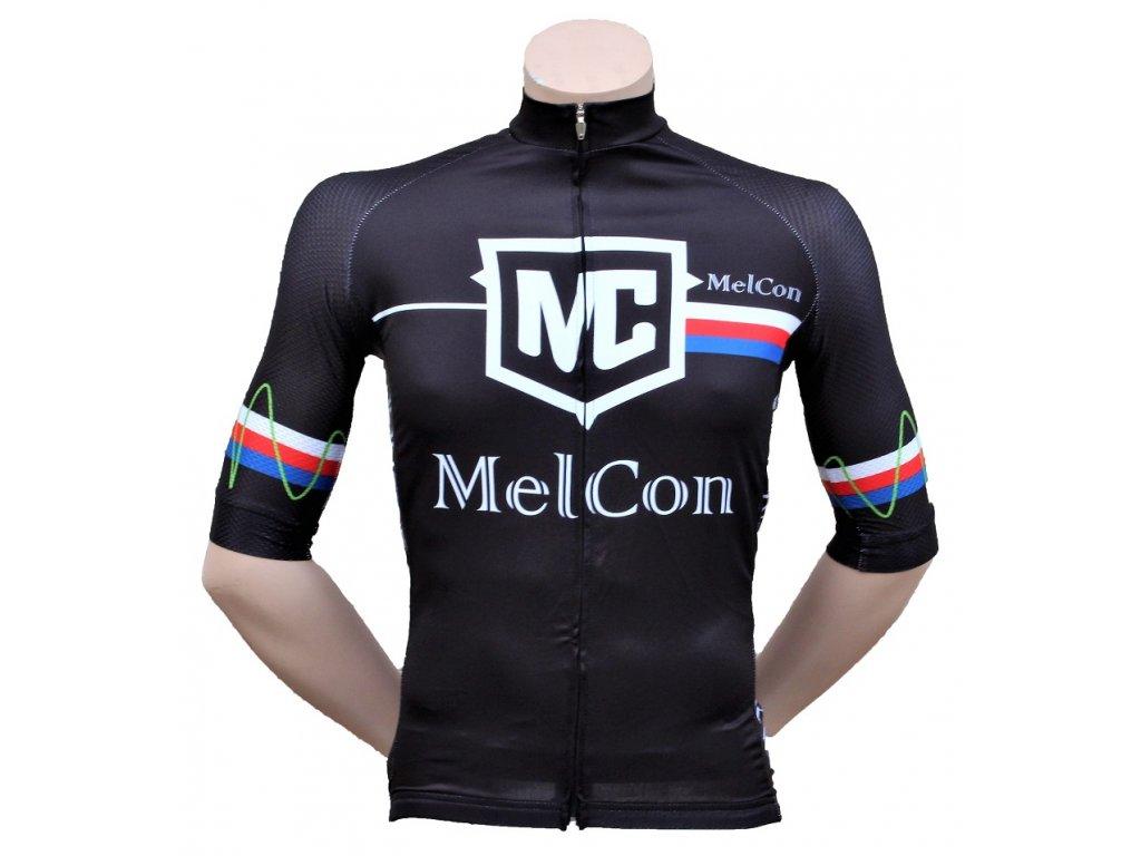 Pánský dres MelCon Race černý