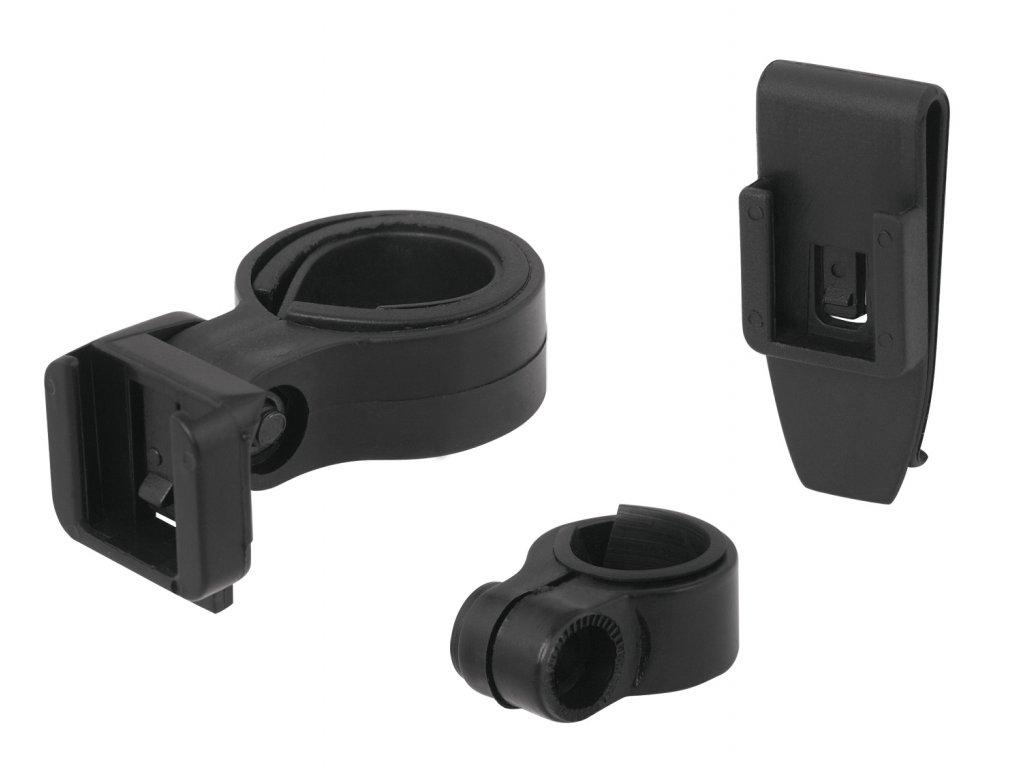 držák zadní blikačky FORCE na sedlovku 25 - 28 mm