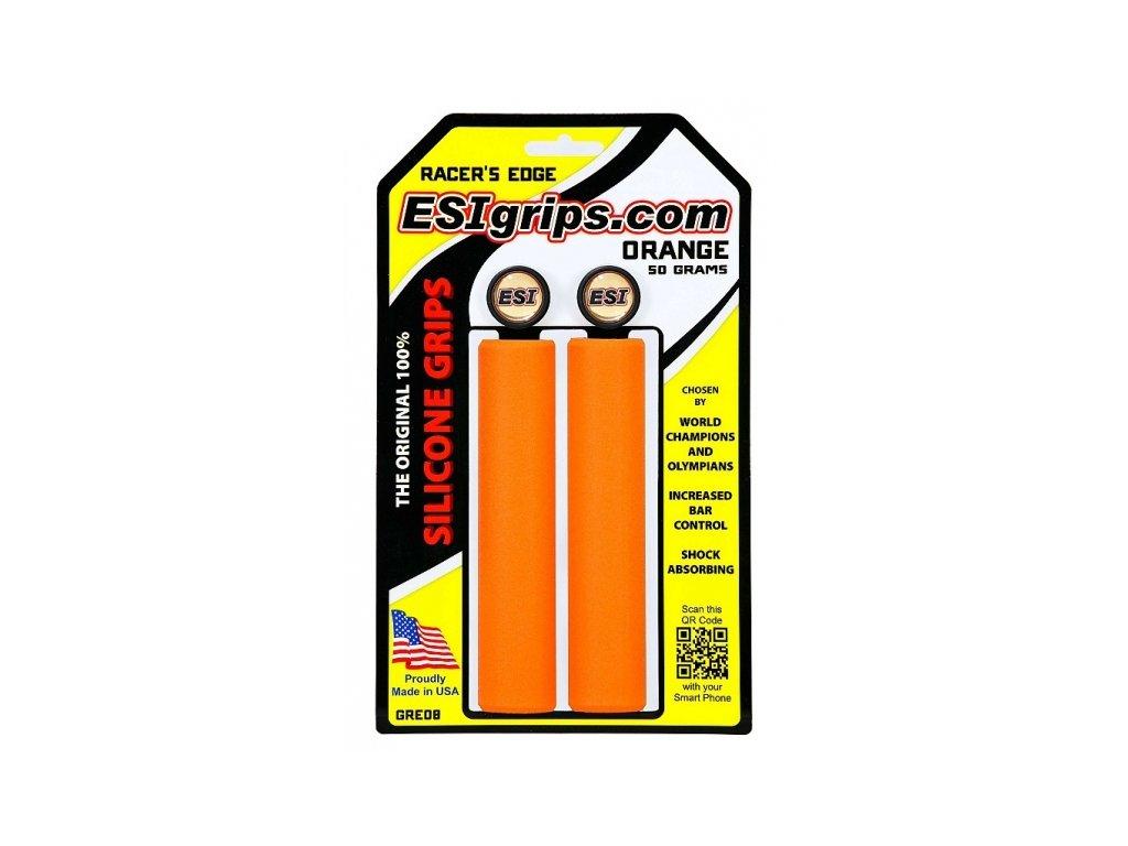 gripy ESI Racer's Edge oranžové