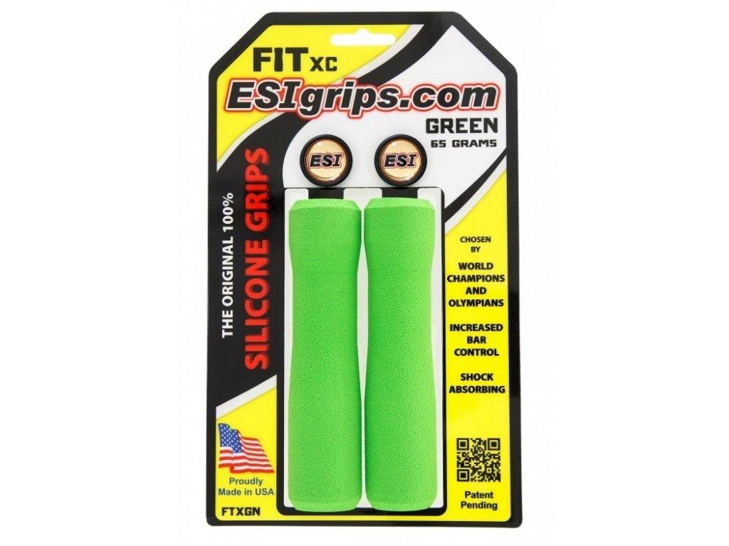 gripy ESI FIT XC zelené
