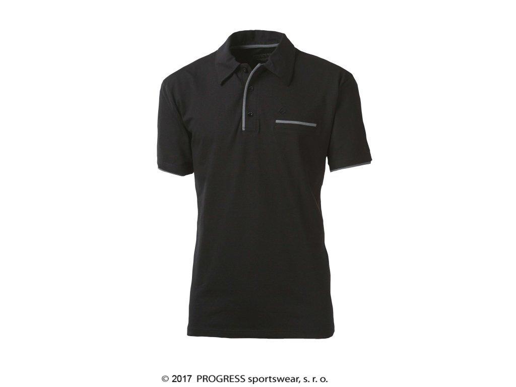 triko krátké pánské Progress CHINOOK černé
