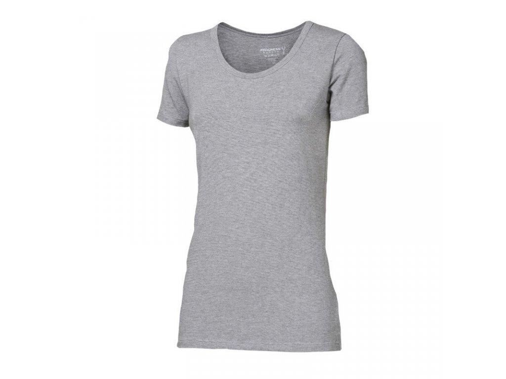 triko krátké dámské Progress SASA šedé