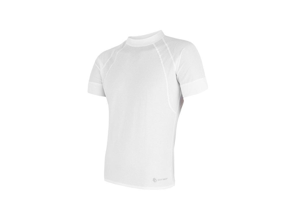 triko krátké pánské SENSOR COOLMAX AIR bílé