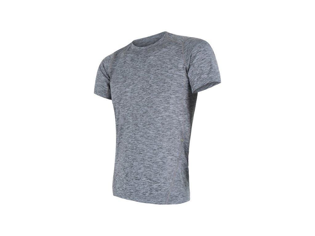triko krátké pánské SENSOR MOTION šedé