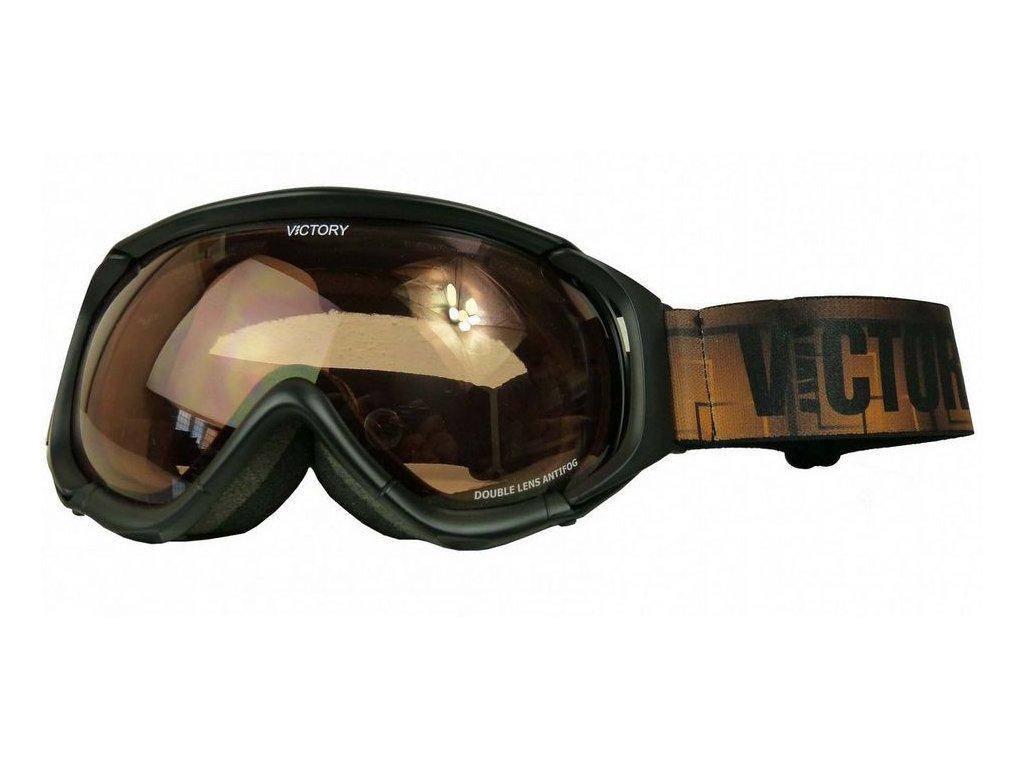 brýle lyžařské Ski/SNB VICTORY V617A černé