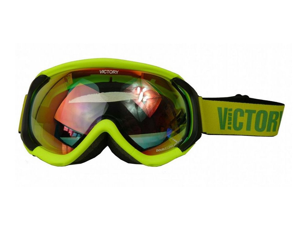 brýle lyžařské Ski/SNB VICTORY V617B žluté