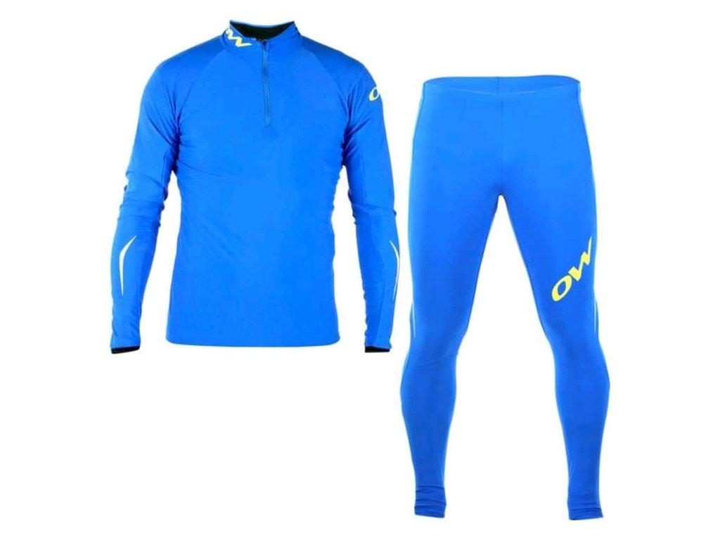 Běžecká kombinéza One Way FAST CATCH 2 modrá