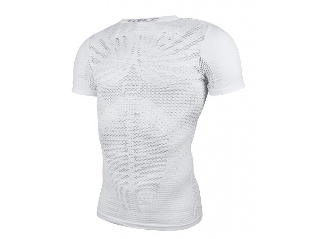 triko funkční F SWELTER krátký rukáv, bílé