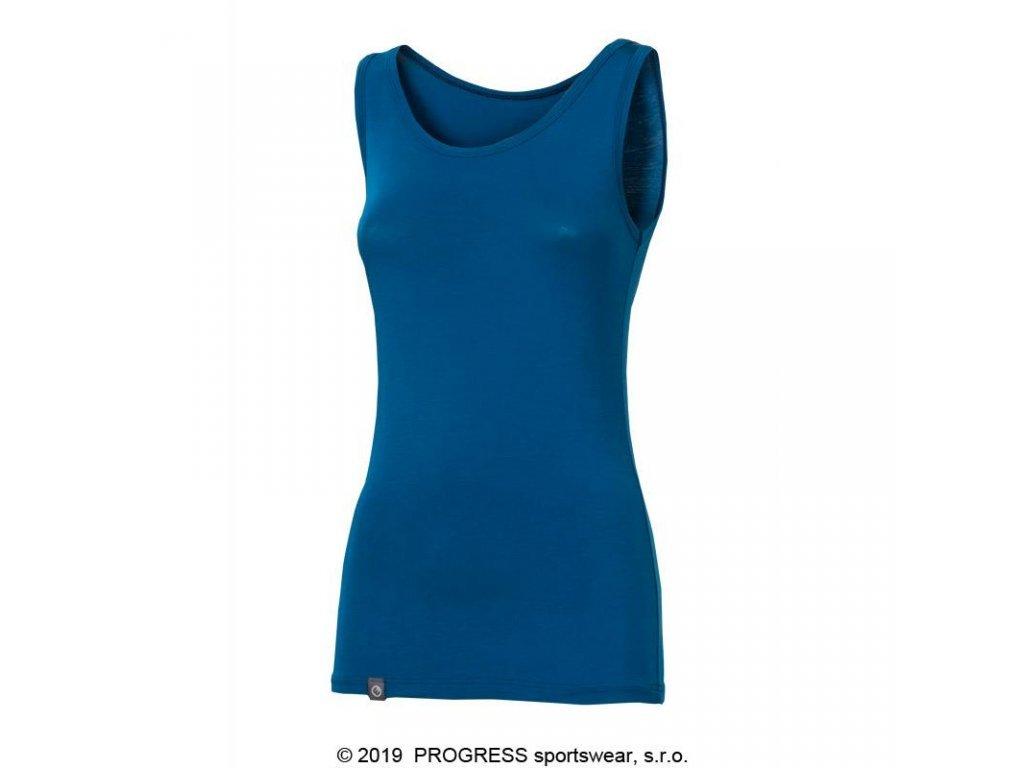 tílko dámské Progress CELEBRITY modré