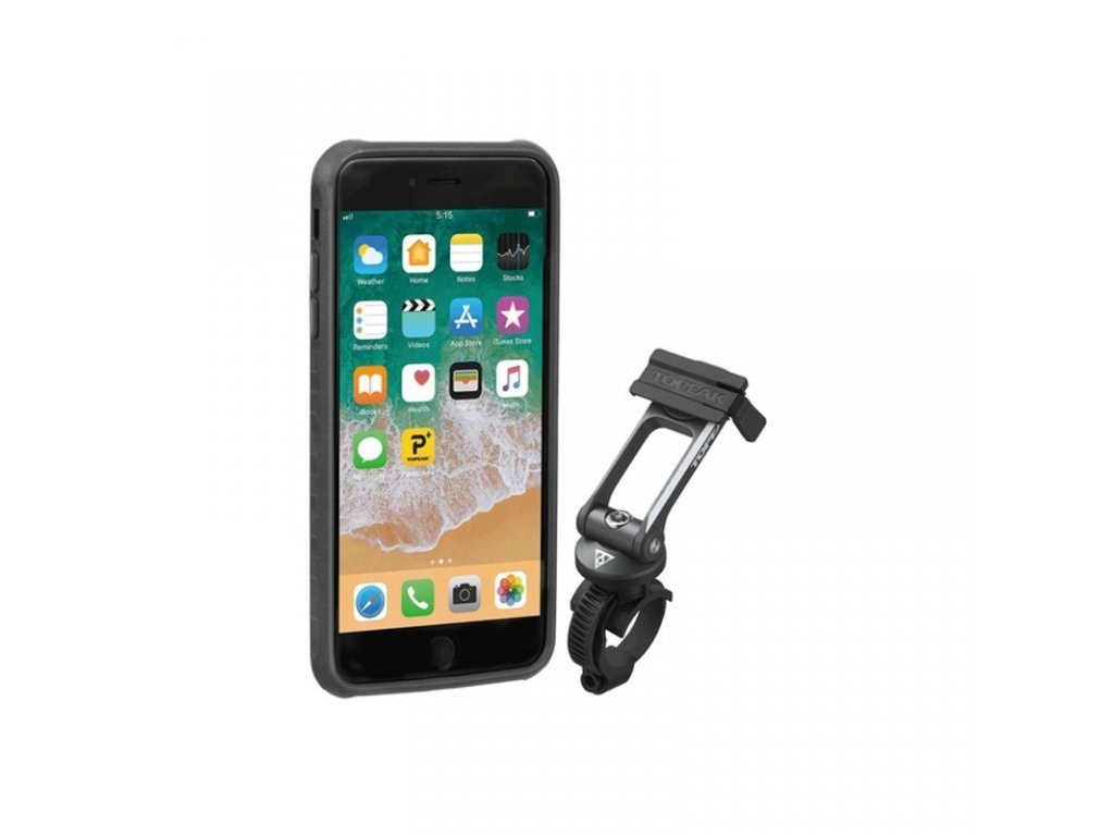 obal na mobil TOPEAK pro iPhone 6, 7, 8 černo/šedý