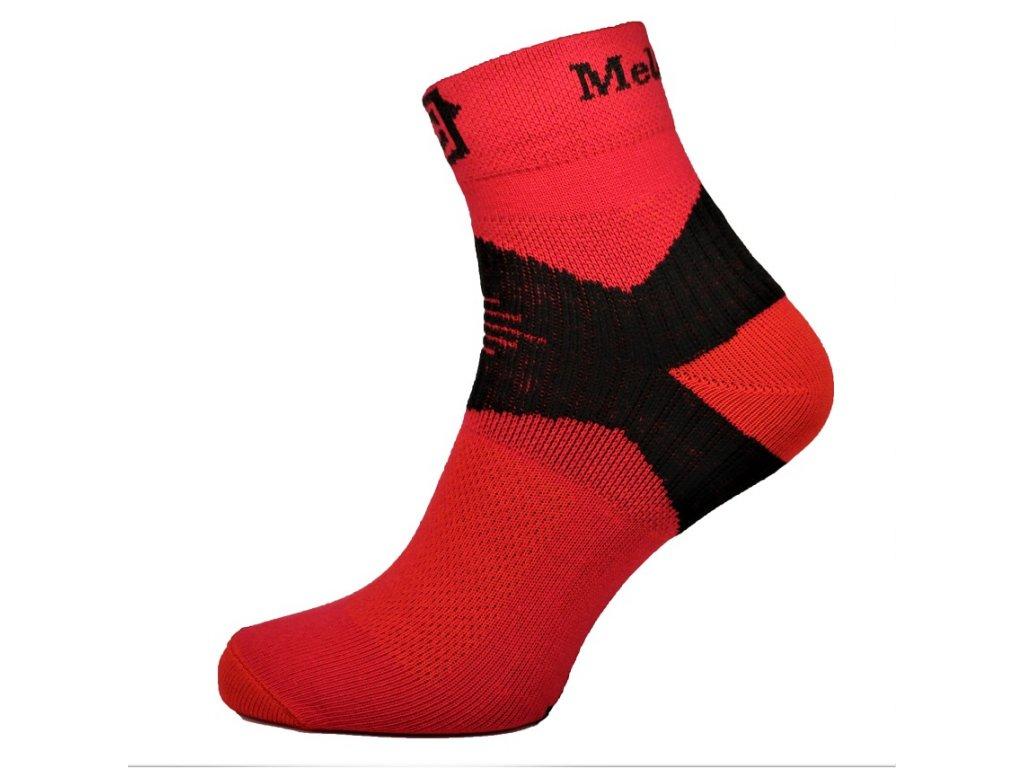 Ponožky MelCon X červené