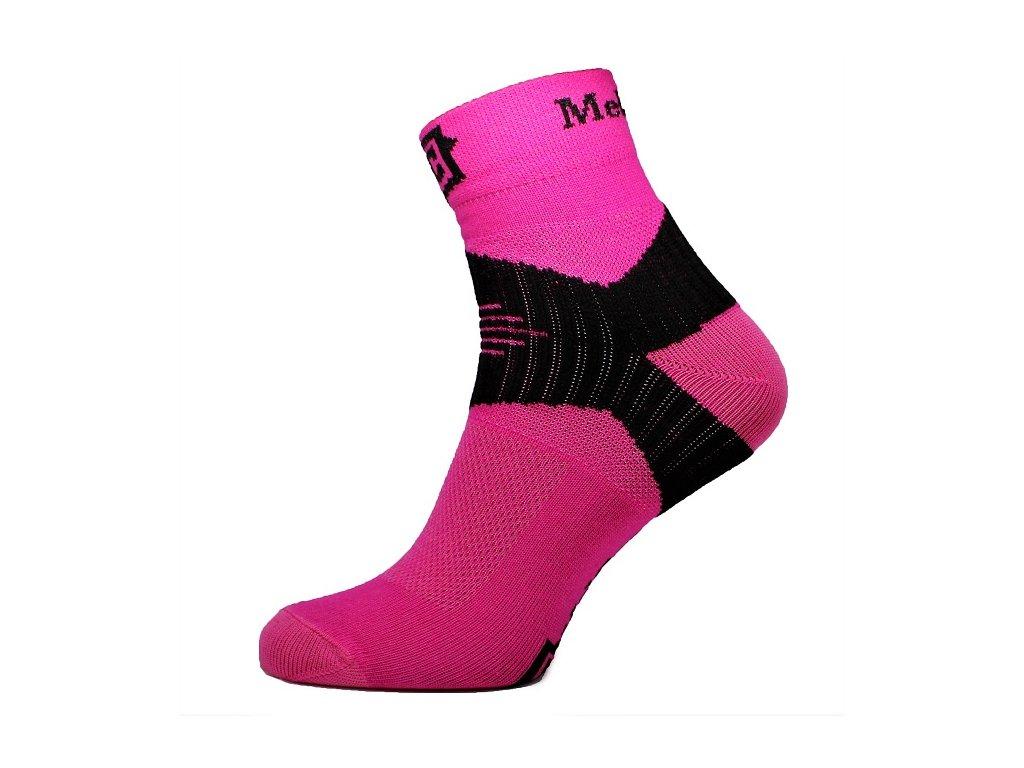 Ponožky MelCon X růžové