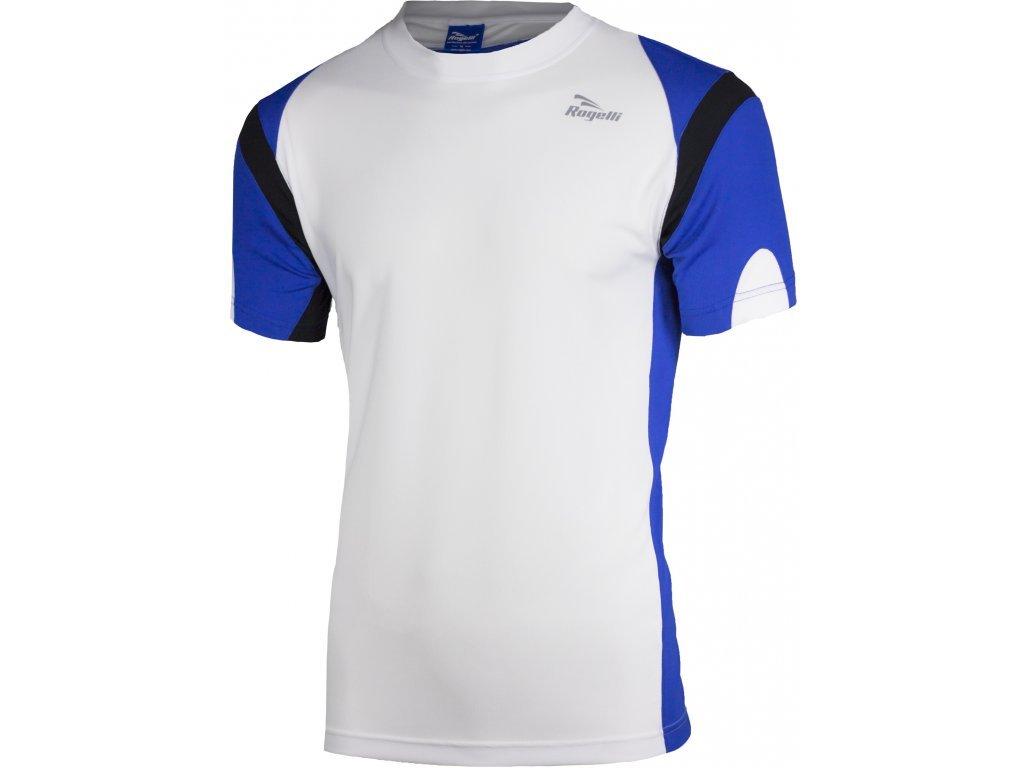 triko krátké pánské Rogelli DUTTON bílo/modré