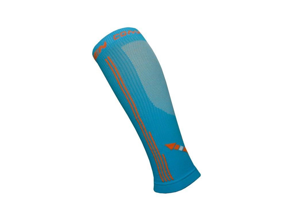 Kompresní návleky HAVEN Compressive Calf Guard EvoTec blue/orange- MIDDLE COMPRESSION vel.