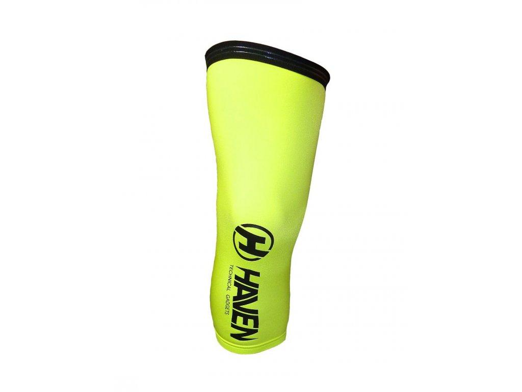 Návleky na kolena HAVEN NEO green- s vnitřním silikonovým páskem vel.