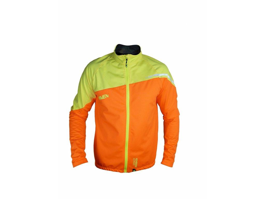 Bunda HAVEN TRUFEEL (unisex) orange