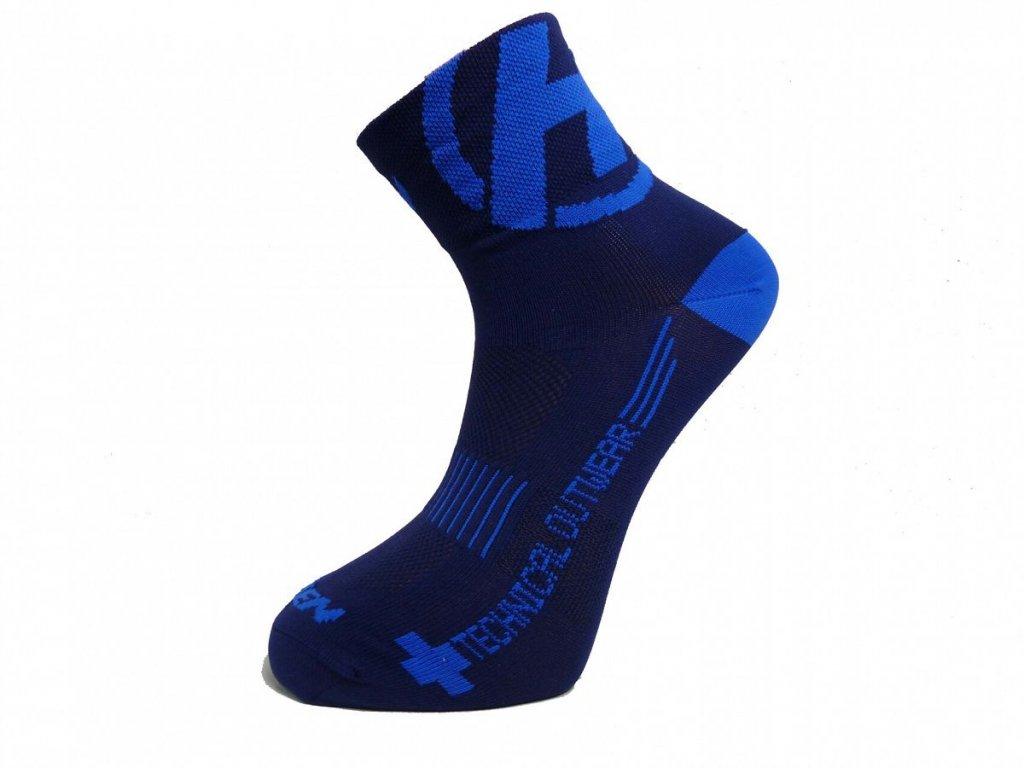 Ponožky HAVEN LITE Silver NEO dark blue 2 páry vel.