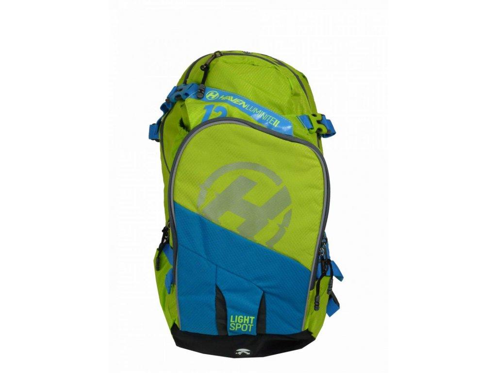 Hydratační batoh HAVEN LUMINITE II 12l green