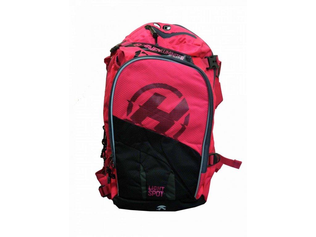 Hydratační batoh HAVEN LUMINITE II 18l black/pink