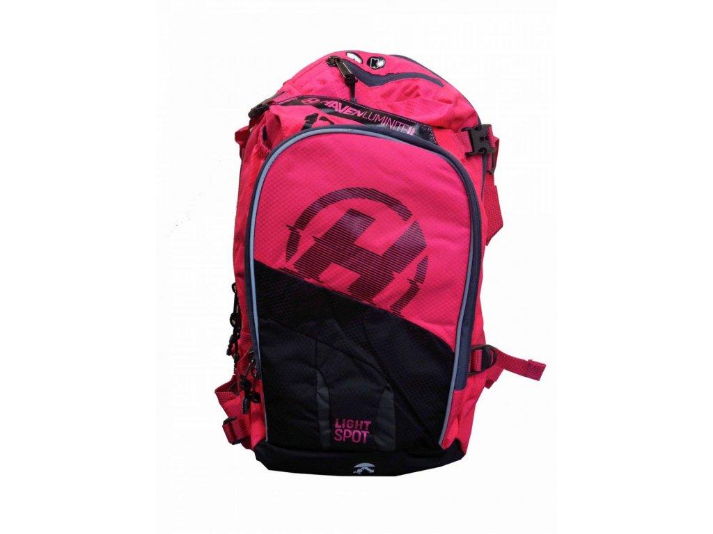 Hydratační batoh HAVEN LUMINITE II 12l black/pink
