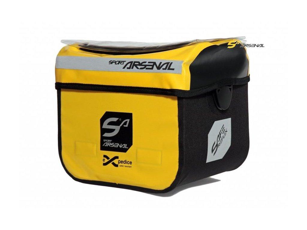brašna Sport Arsenal 310 řidítková Quickfix žlutá