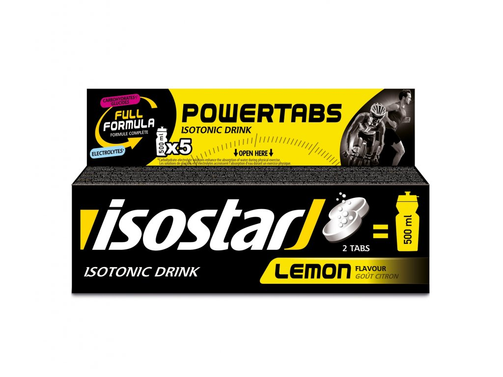 ISOSTAR POWERTABS tablety 120g citron