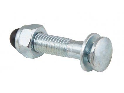 podsedlový šroub+matice M8x35mm Fe, stříbrný
