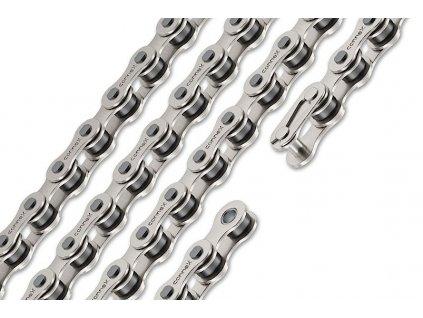 řetěz CONNEX 108 pro single speed, stříbrný