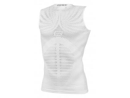 triko funkční F TROPIC bez rukávů,bílé