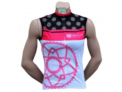 Dámský dres bez rukávů MelCon Summer růžový