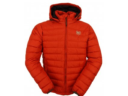 Péřová bunda melcon paldor červená (1)