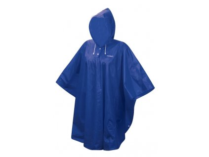 poncho FORCE dětské nepromokavé, modré XS - M
