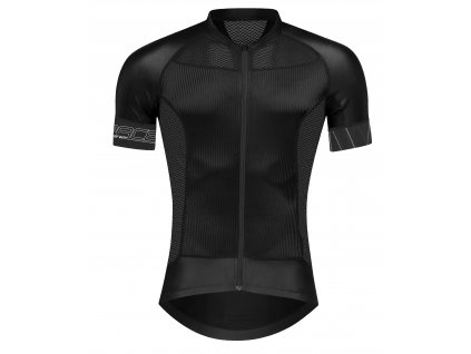 dres FORCE SHINE krátký rukáv,černý