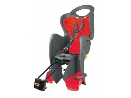 sedačka MR FOX RELAX B-FIX zadní šedo-červená