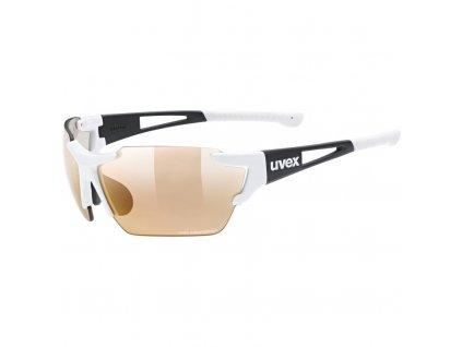 brýle UVEX Sportstyle 803 race VM CV bílé