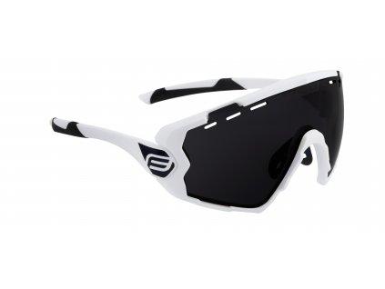 brýle FORCE OMBRO bílé mat., černá skla