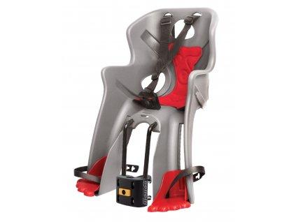 sedačka RABBIT B-FIX přední stříbrno-červená