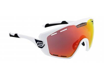 brýle FORCE OMBRO PLUS bílé mat., červená skla