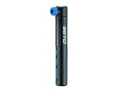 hustilka BETO CRH-015P dvoucestná plastová černo-modrá