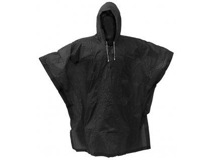 pláštěnka PVC pončo černá